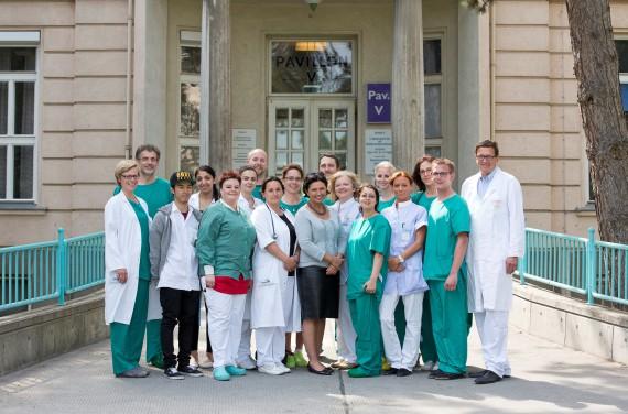 Photo by Eva Kelety, Team I. Department for Internal Medicine